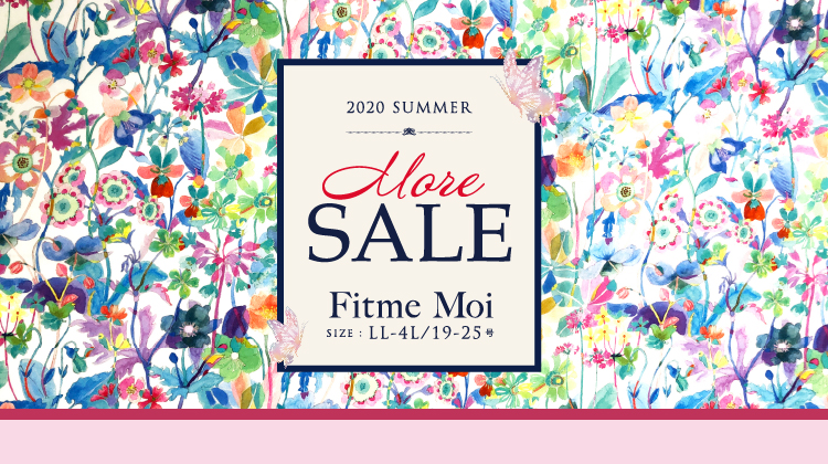 Fitme Moi 2020  MORE SALE! セール品再値下げ&追加
