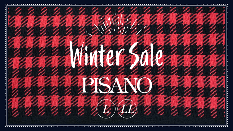 PISANO 2021 WINTER SALE!