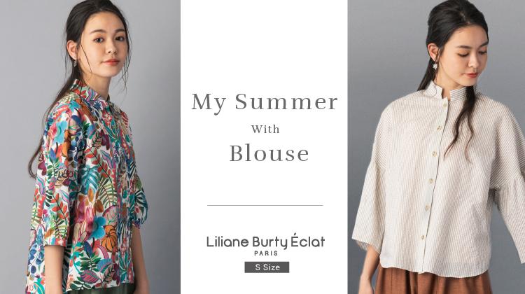 【リリアンビューティエクラ】快適な夏を過ごすための綿素材ブラウス